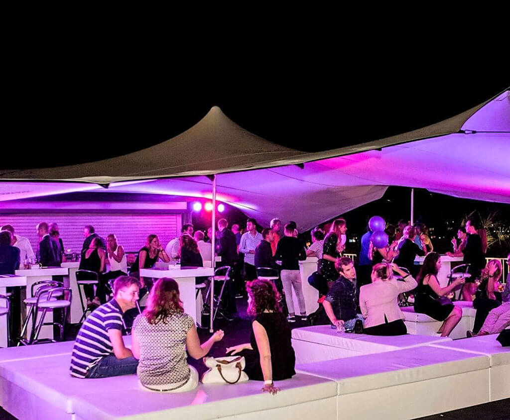 Flextent - Stretchtent - VIP - Lounge - Area
