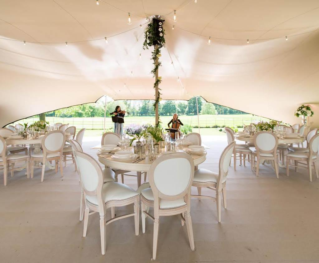Flexzelt - Flextent - Bruiloft tent - Overkapping
