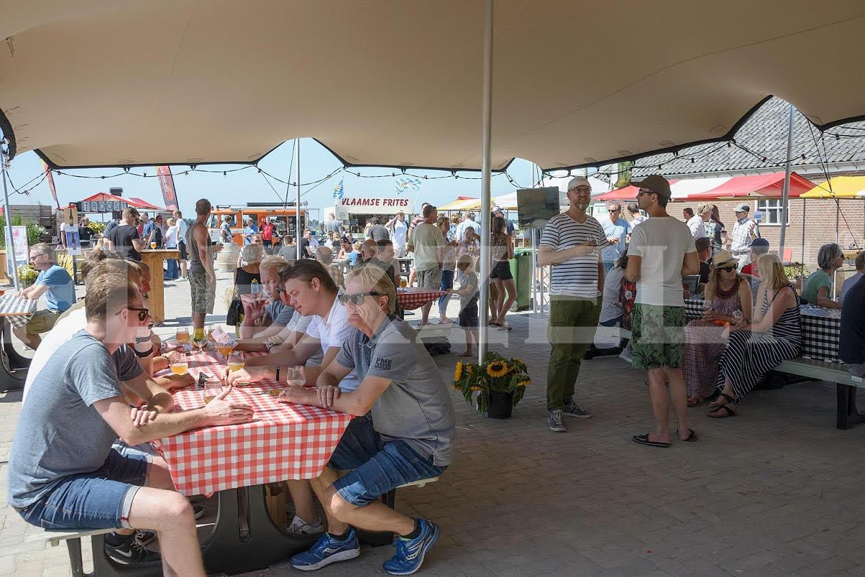 Flexzelt - Flextent - Festival toepassing - Food Truck