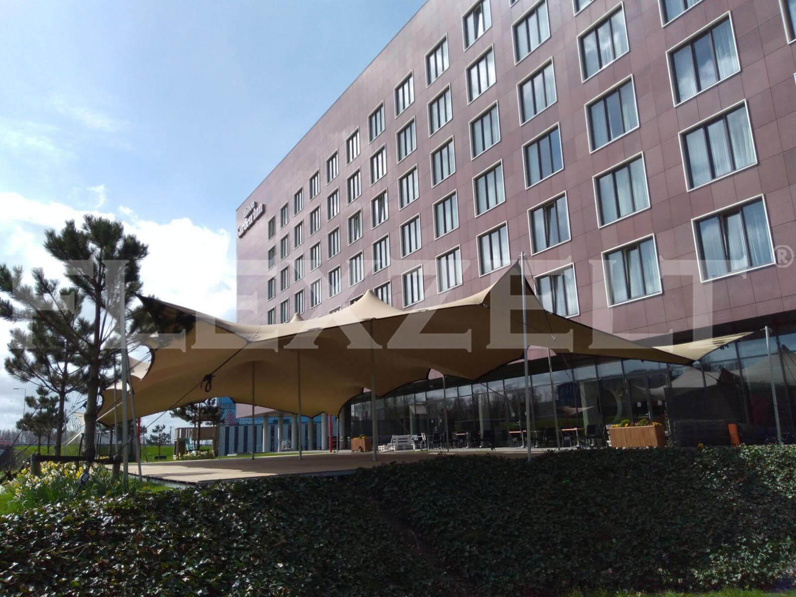 Flextent® - Flexzelt® - Stretchzelt - Stretchtent - Hotel